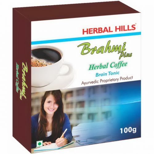 Растительный «Кофе» без кофеина Брахми Хербал Хилс (Herbal Coffee Brahmi Herbal Hills) 100 г