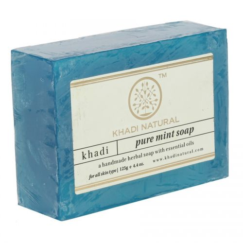 Мыло «Мята» Кхади Нейчерал (Mint Soap Khadi Natural) 125 г