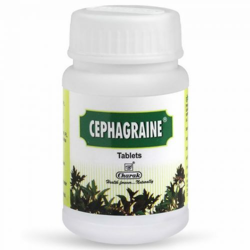 Сефагрейн Чарак (Cephagraine Tablets Charak) 40 таблеток /628.2 мг