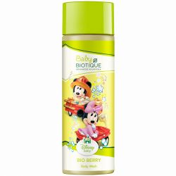 Детский гель для тела «Микки и Минни Маус» Био Ягоды Биотик (Bio Berry Disney Body Wash Biotique) 190 мл