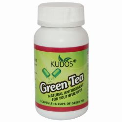 Зеленый чай экстракт Кудос (Green Tea Capsules Kudos) 60 капсул / 500 мг