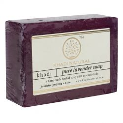 Мыло «Лаванда» Кхади Нейчерал (Lavender Soap Khadi Natural) 125 г
