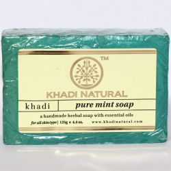Мыло «Мята» Кхади Нейчерал (Mint Soap Khadi Natural) 125 г 0