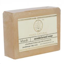 Мыло «Сандал» Кхади Нейчерал (Sandalwood Soap Khadi Natural) 125 г