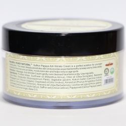 Крем от морщин «Шафран и Папайя» с маслом Ши Кхади Нейчерал (Saffron and Papaya Anti-Wrinkle Cream With Shea Butter Khadi Natural) 50 г 1