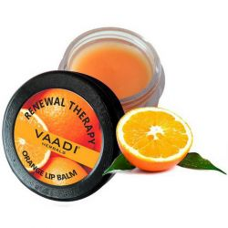 Бальзам для губ с апельсином и маслом ши Ваади (Lip Balm Orange & Shea Butter Vaadi) 6 г