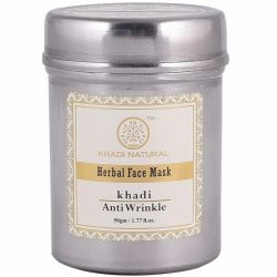 Маска для лица от морщин Кхади Нейчерал (Anti Wrinkle Face Pack Khadi Natural) 50 г