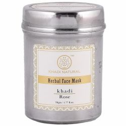 Маска для лица «Сияние Розы» Кхади Нейчерал (Rose Face Pack Khadi Natural) 50 г