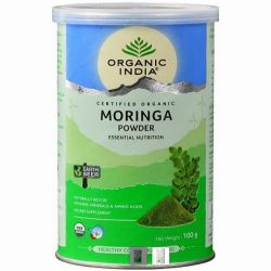 Моринга порошок Органик Индия (Moringa Powder Organic India) 100 г