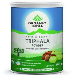 Трифала порошок Органик Индия (Triphala Powder Organic India) 100 г